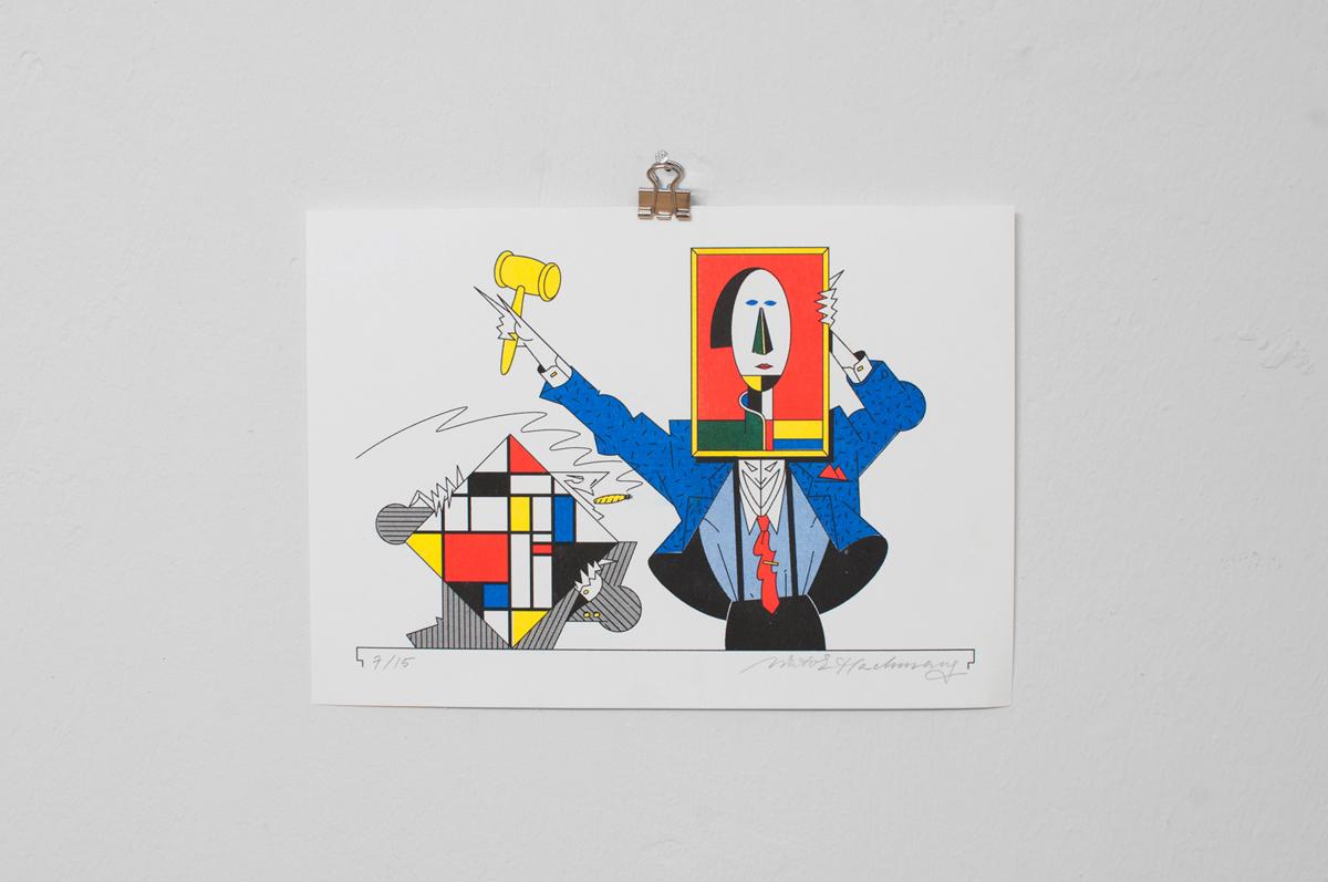 Ninasagt – Viktor Hachmang, The Auctioneers