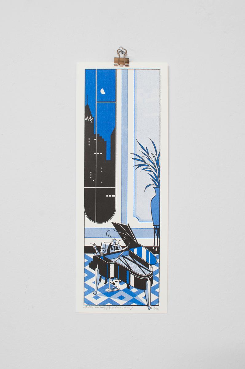 Ninasagt – Viktor Hachmang, Blue Night