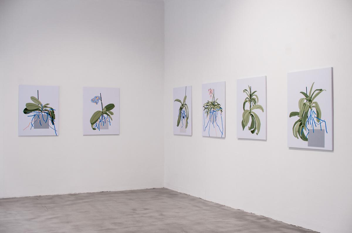 Ninasagt – Plant Related Paintings, galerie_02klein