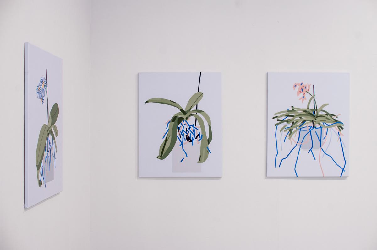 Ninasagt – Plant Related Paintings, galerie_03klein