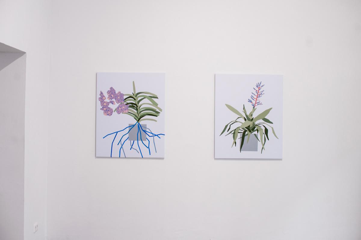 Ninasagt – Plant Related Paintings, galerie_04klein