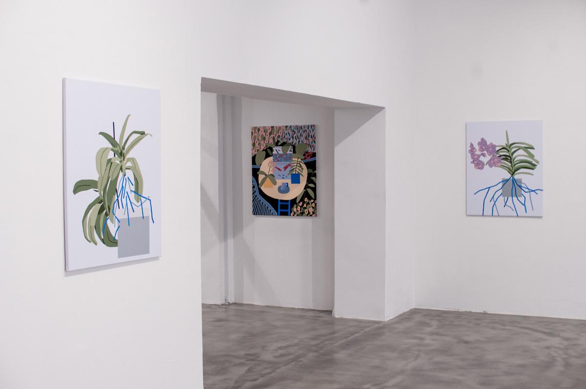 Ninasagt – Plant Related Paintings, galerie_05klein