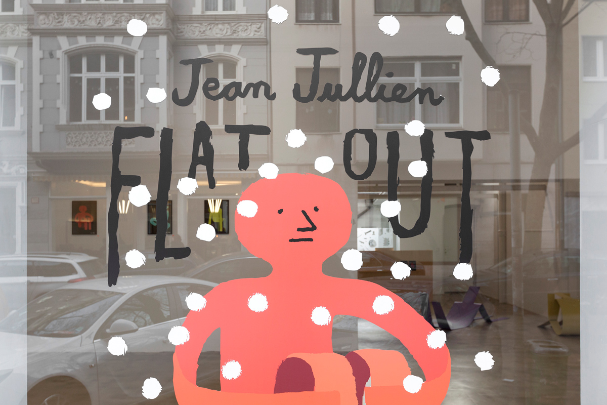 Ninasagt – Flat Out, ninasagt-jean-jullien-window-1-flat-out