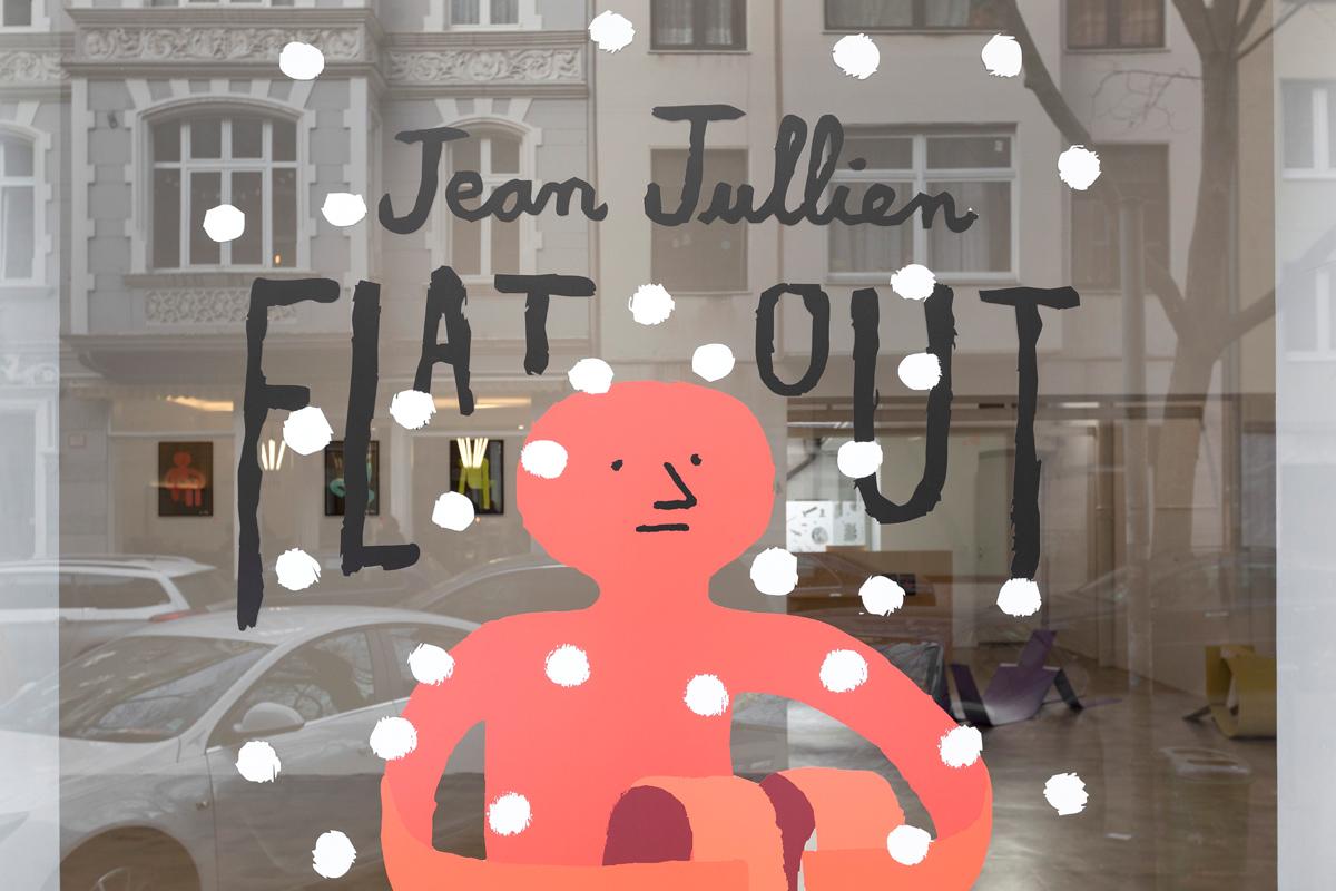 Ninasagt – Flat Out, ninasagt-jean-jullien-window-1-flat-out