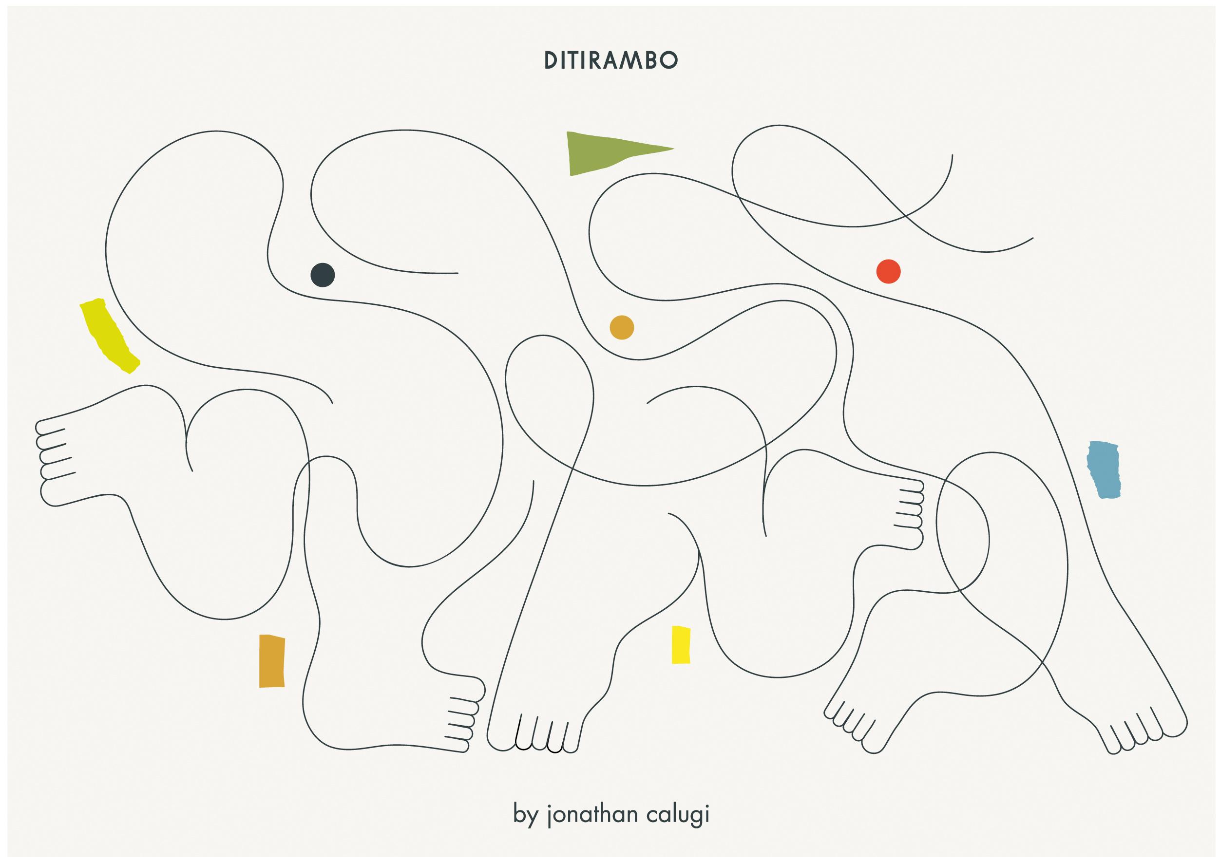 Ninasagt – Ditirambo, ditirambo-seite