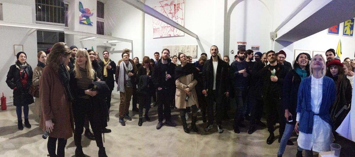 Ninasagt – 'Offenbacher Haengung' a Koenigsklasse group show., eike-speech