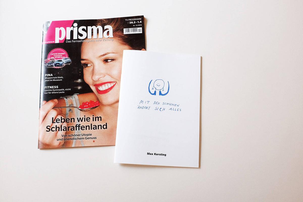 Ninasagt – Max Kerstings 'Mit den Schuhen ändert sich Alles' Präsentation., max-blog