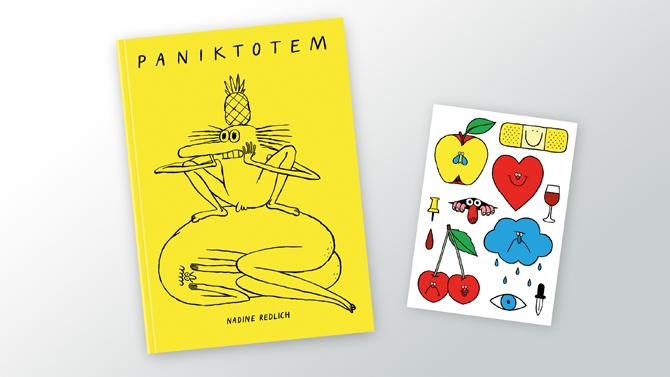 Ninasagt – Now ready for preordering: Paniktotem by Nadine Redlich., paniktotem_cover-preorder