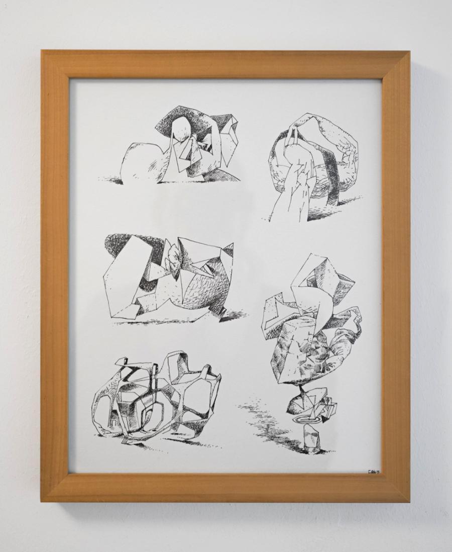 Ninasagt – Nadine Redlich, Imaginary Sculptures