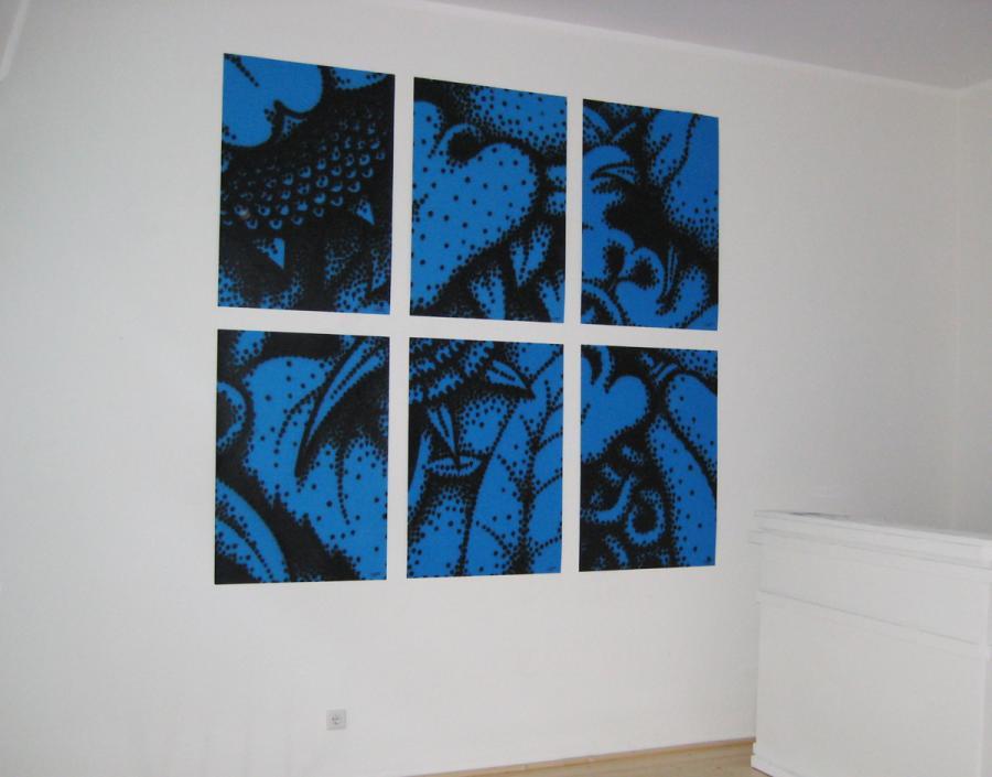 Ninasagt – Jeroen Erosie, Blue Posters