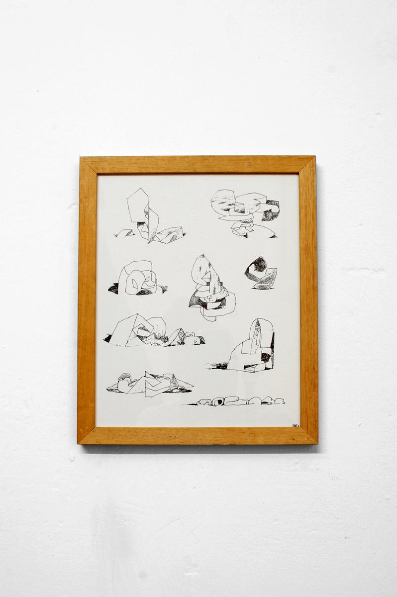 Ninasagt – Oscar Grønner, Imaginary Sculptures