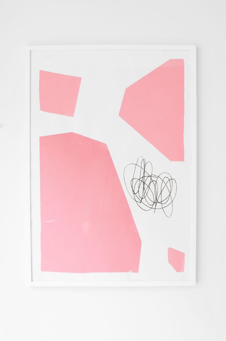 Ninasagt – 2017, Untitled Pink