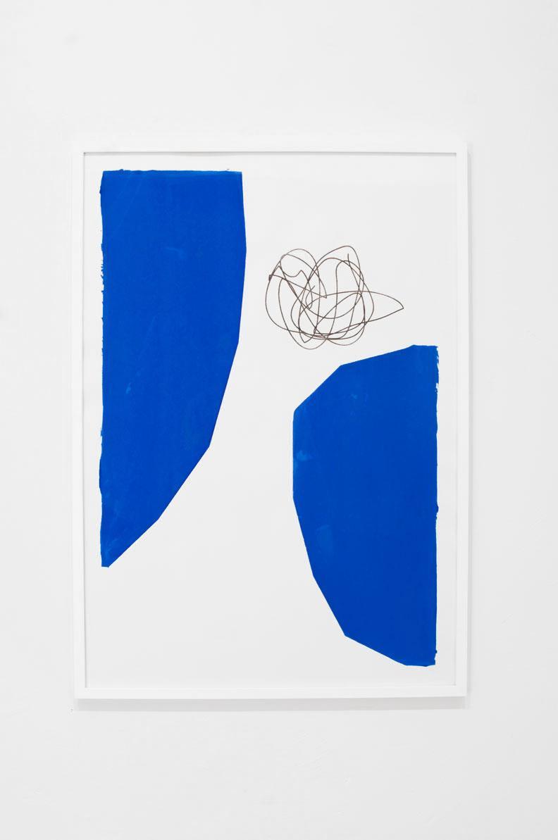 Ninasagt – Sara Andreasson, Untitled Blue