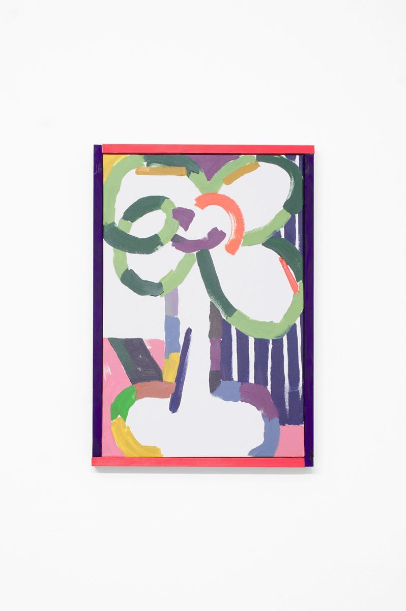 Ninasagt – Jonathan Calugi, Blume in Vase