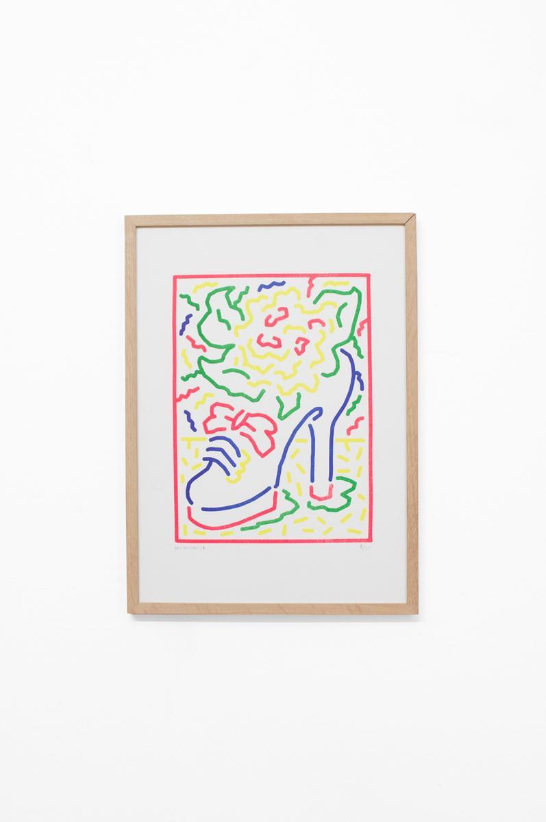 Ninasagt – Artists, Shoe