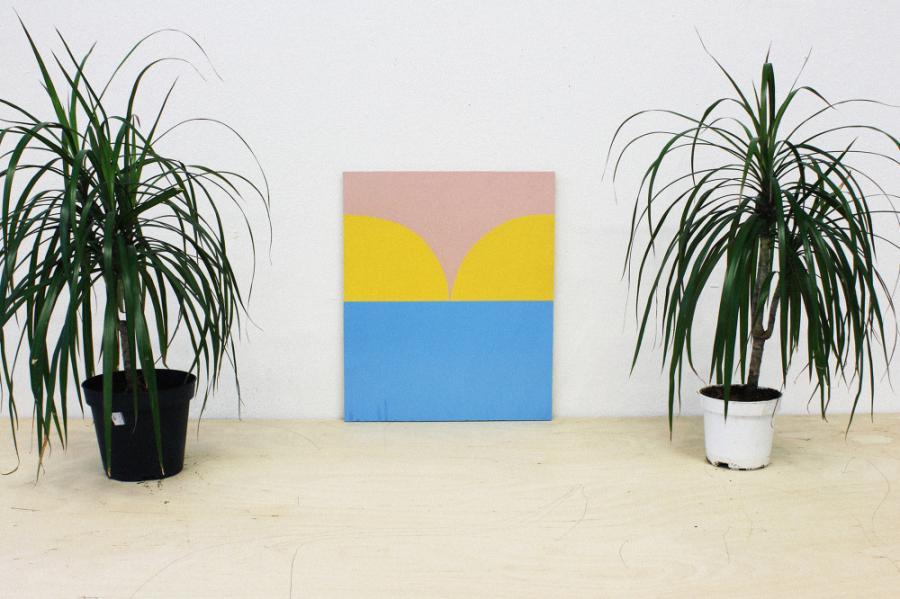 Ninasagt – Art is made in the bedroom, Flagscape