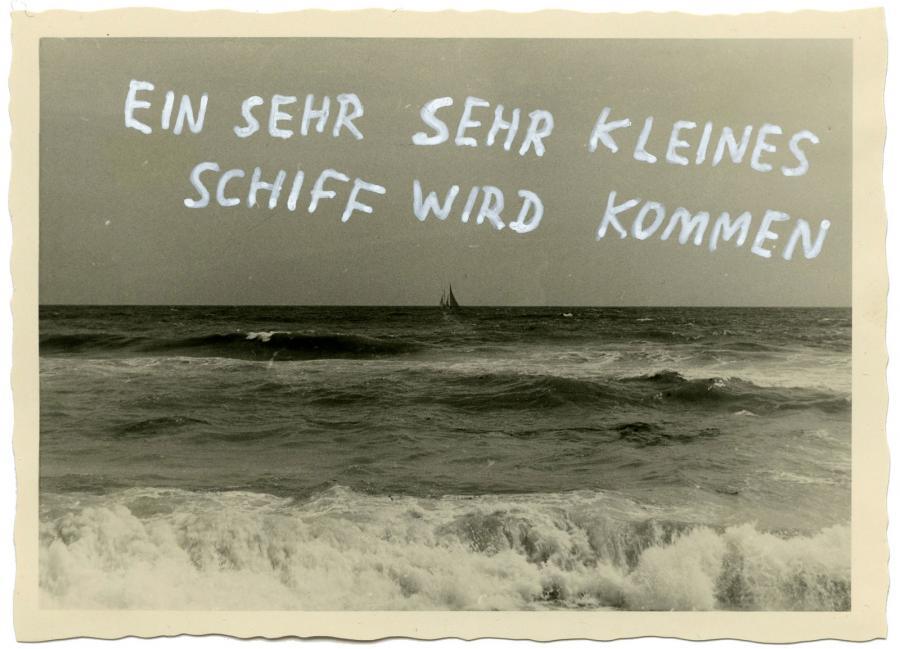 Ninasagt – Max Kersting, Sehr sehr kleines Schiff