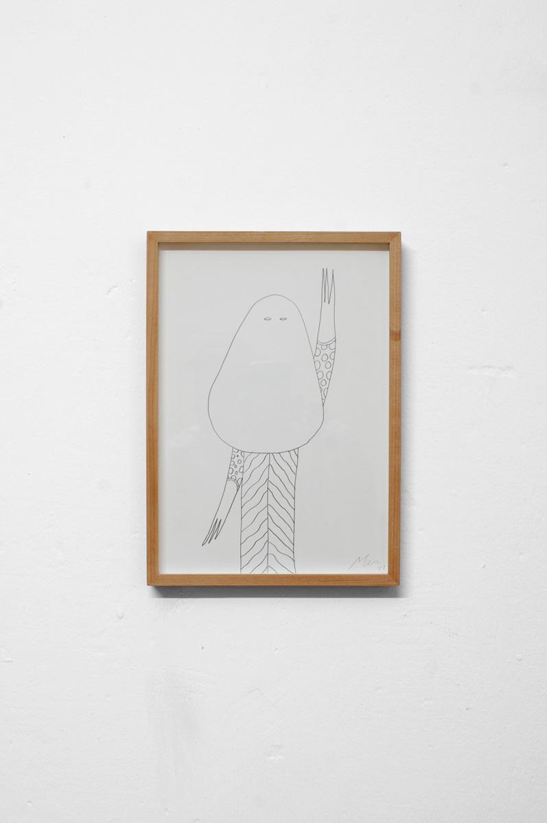 Ninasagt – Düsseldorf Art Academy class meeting., Untitled