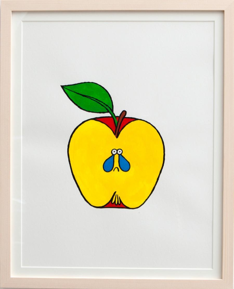 Ninasagt – Jean Jullien, Apple