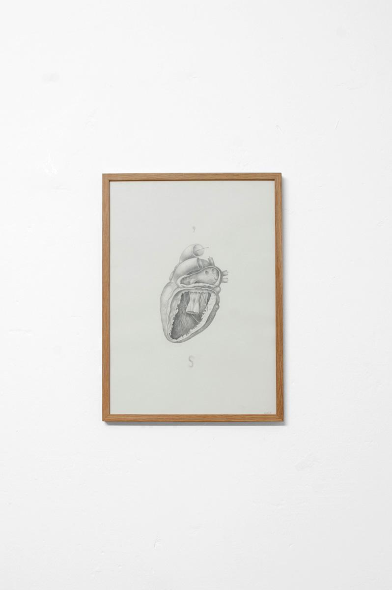 Ninasagt – Karl-Joel Larssons work featured on It's Nice That., Heart