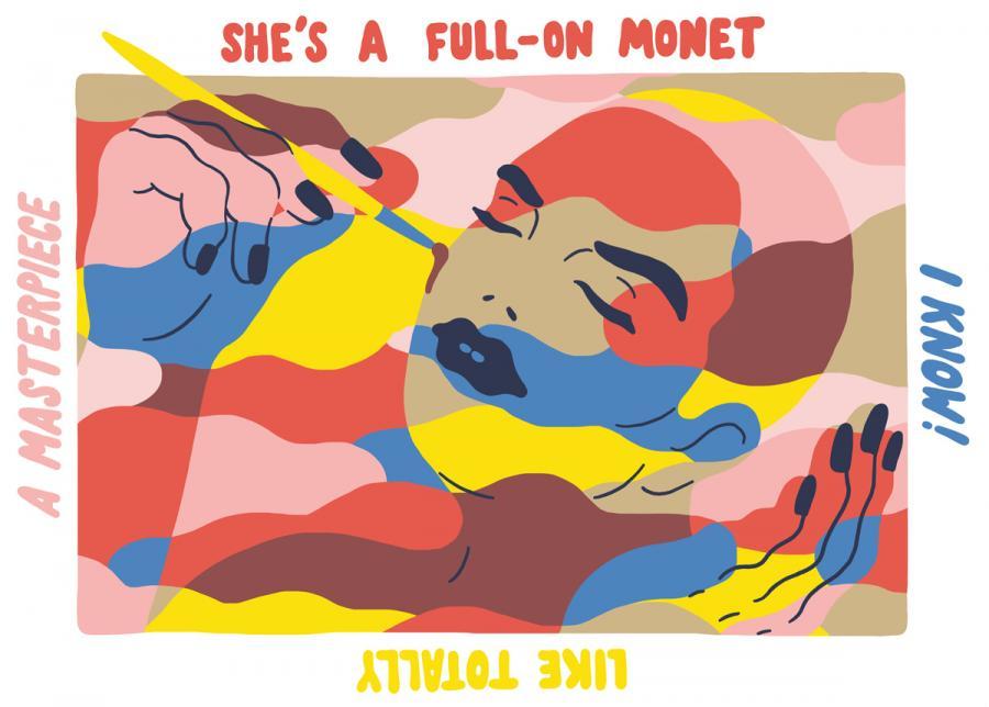 Ninasagt – Sara Andreasson, Full on Monet