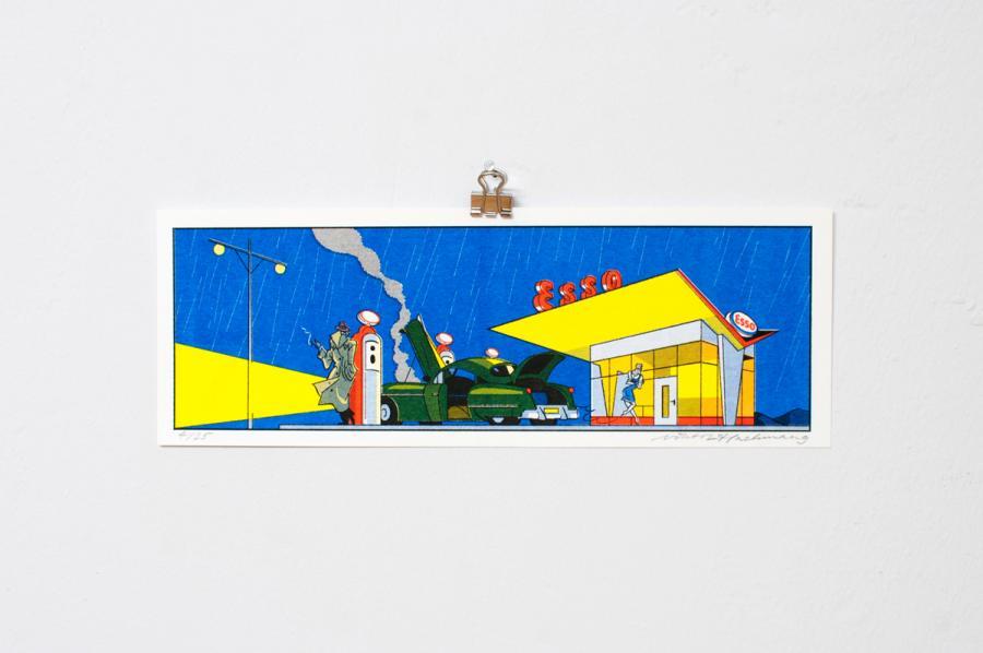 Ninasagt – Viktor Hachmang, Gas Station