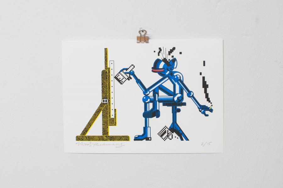 Ninasagt – Viktor Hachmang, Artistic Automaton
