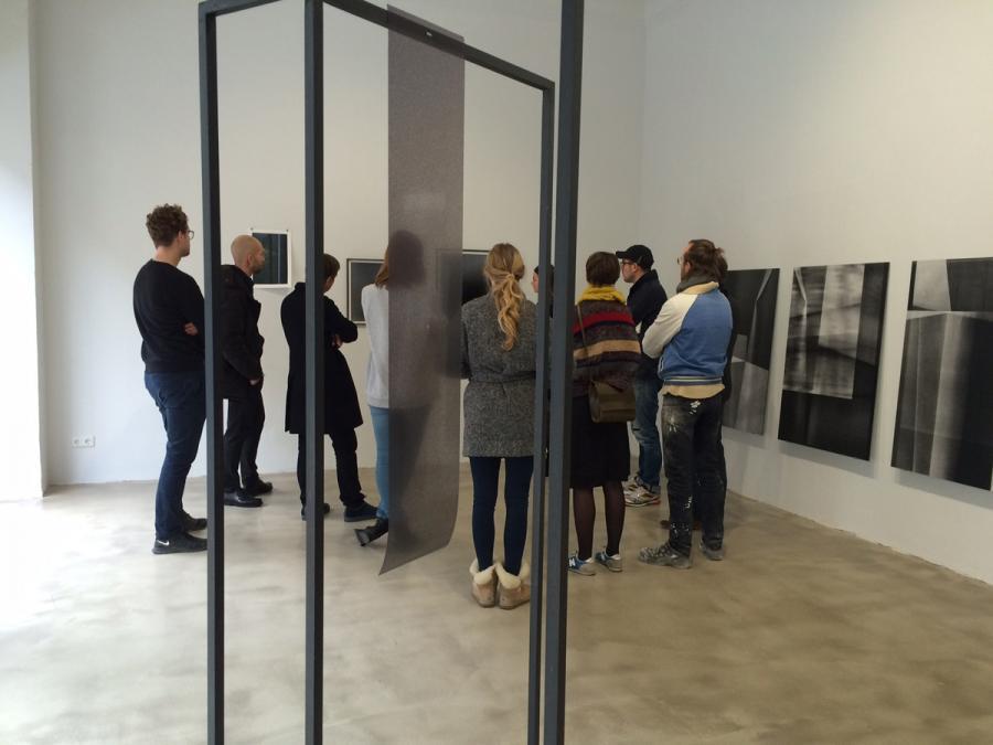 Ninasagt – Düsseldorf Art Academy class meeting.
