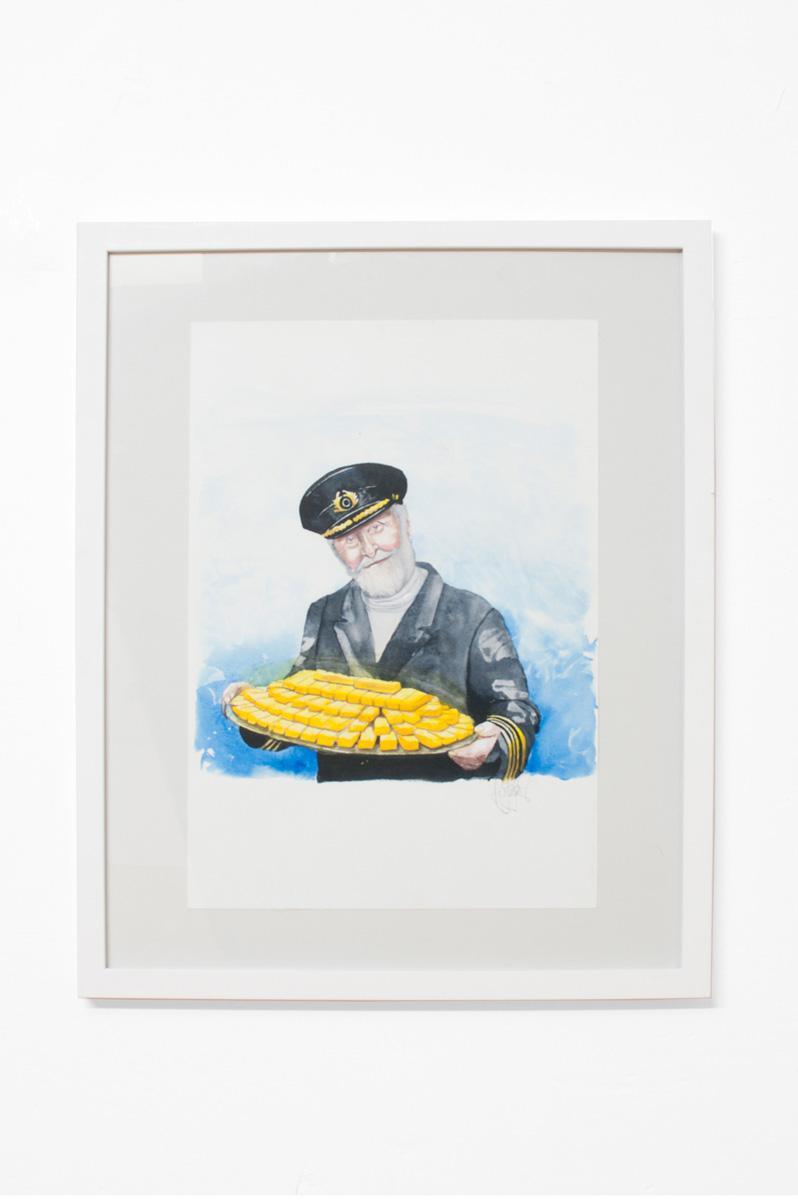Ninasagt – Karl-Joel Larssons work featured on It's Nice That., Die Leitfigur