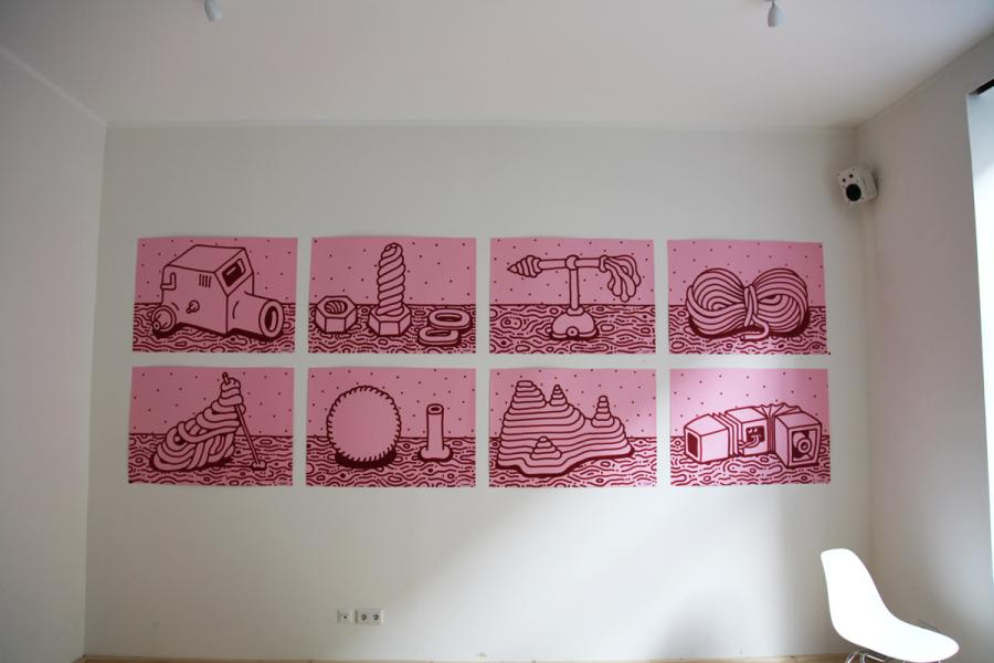 Ninasagt – Berit Schneidereit, Pink Posters